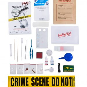 Whodunnit microscope kit for kids